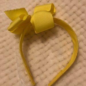 Yellow Gymboree Bow Headband